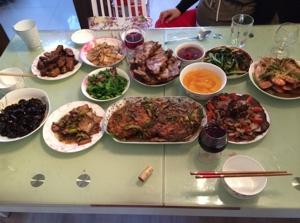 春節の料理 画像