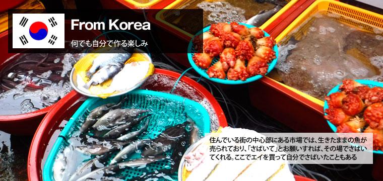 【韓国編】新鮮な魚をさばいて食べるのが楽しい韓国ライフ