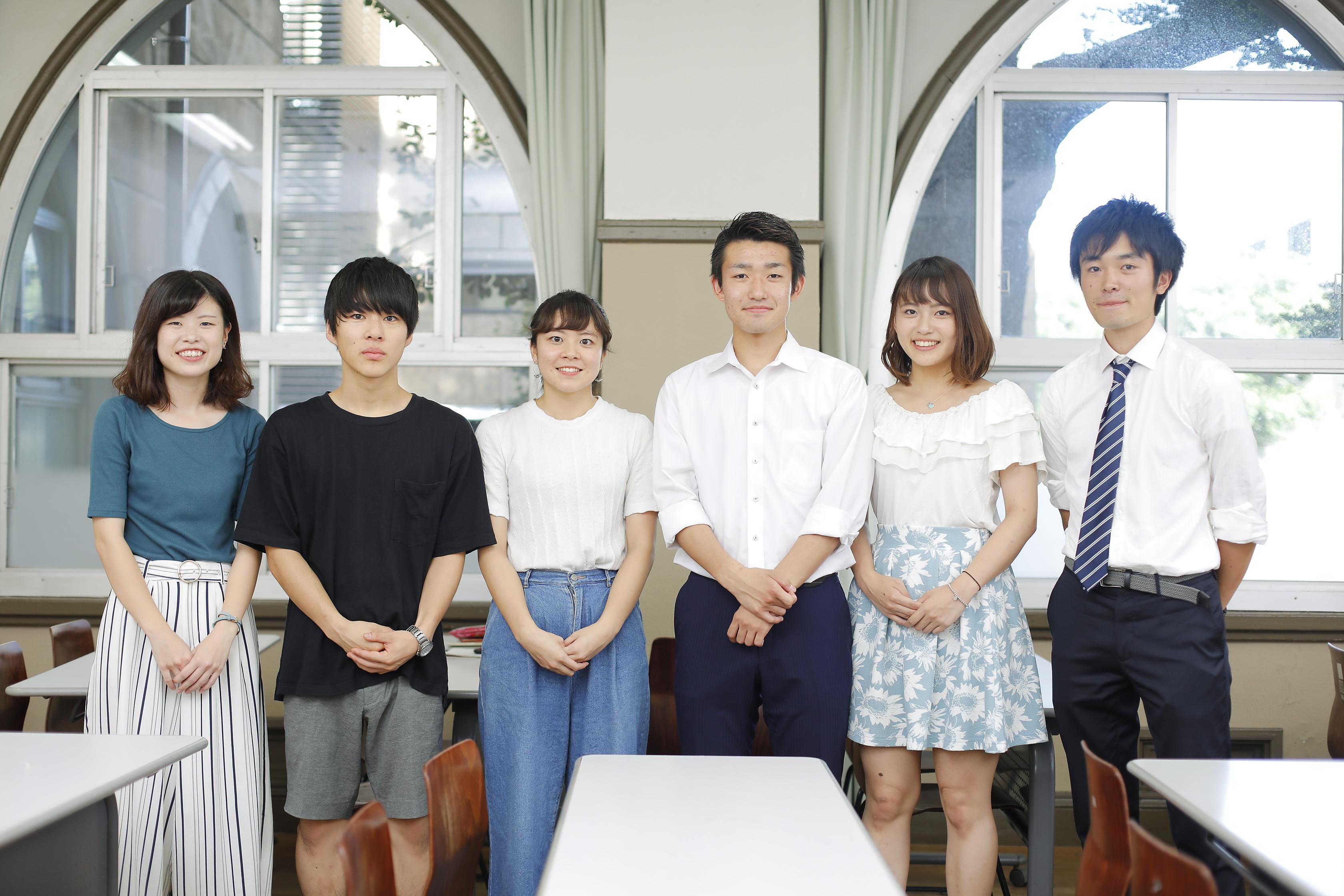 代表者たちの写真