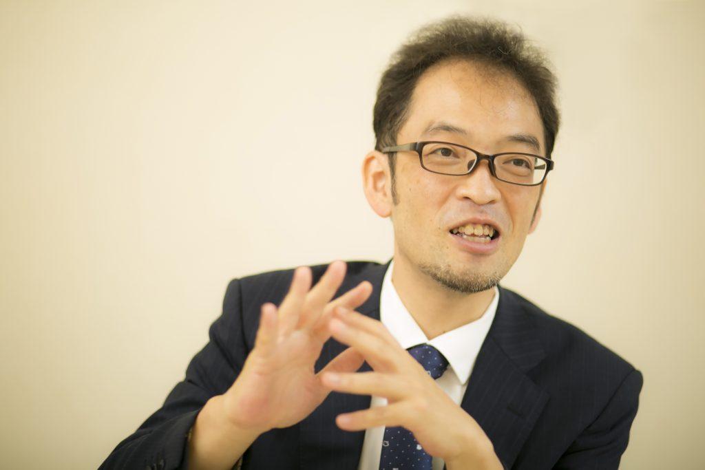 今泉健司さんインタビュー写真
