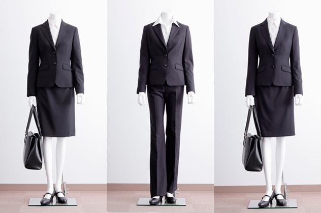 「洋服の青山」イチオシ女性用スーツ