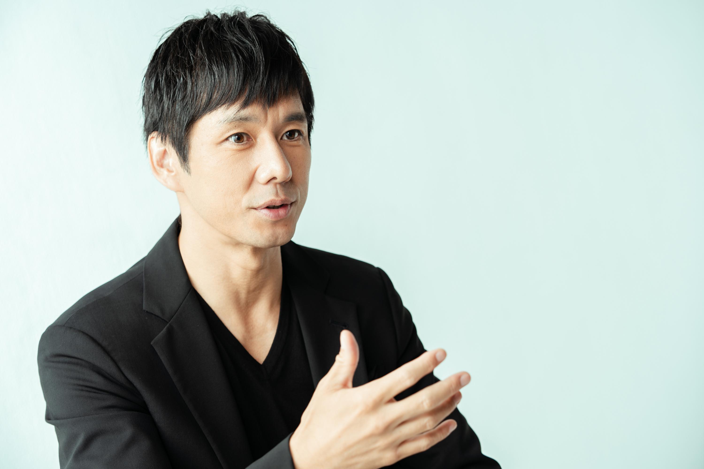 西島秀俊さんインタビュー写真