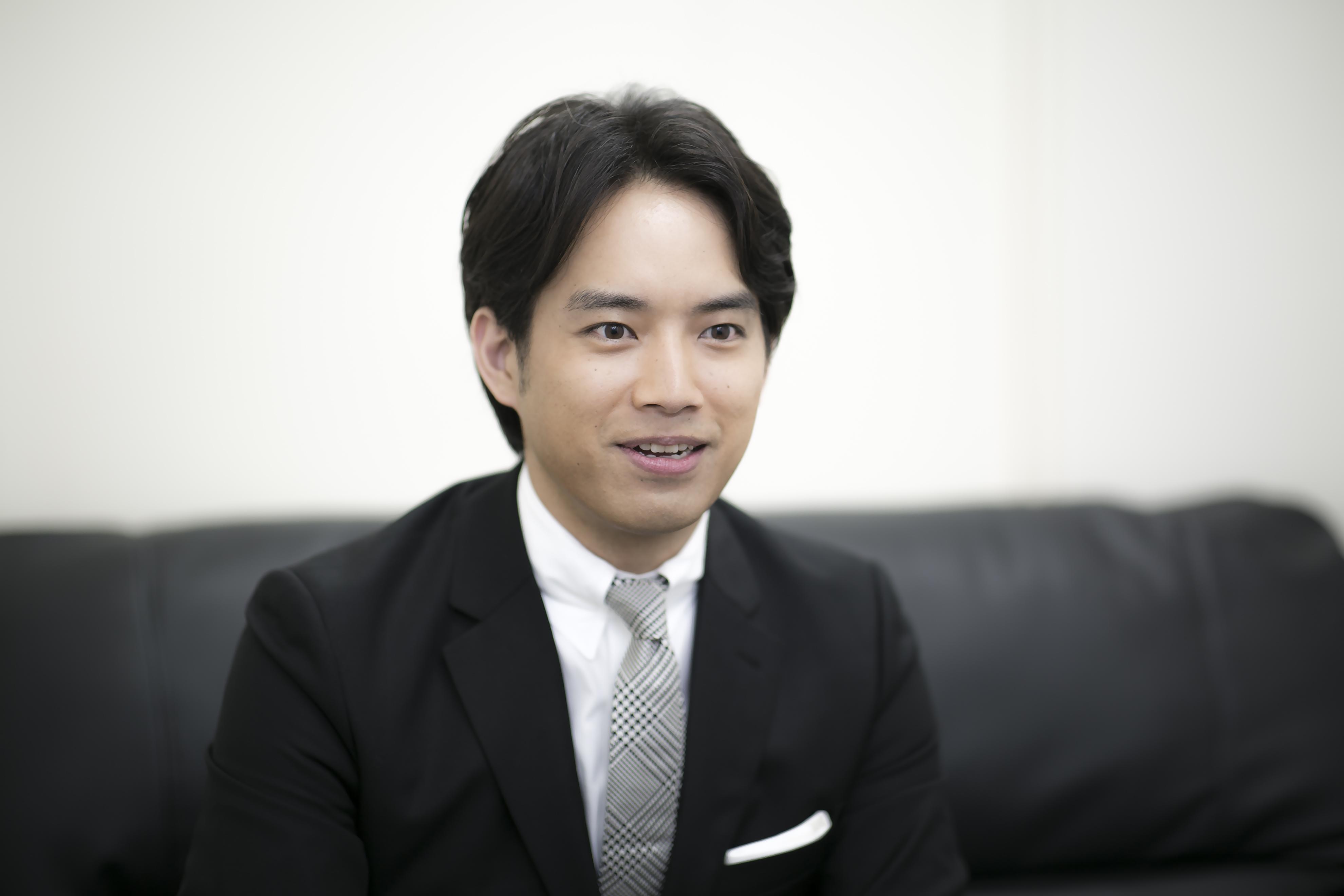 三浦貴大さんインタビュー写真