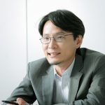 日本総研・田中靖記さんプロフィールカット