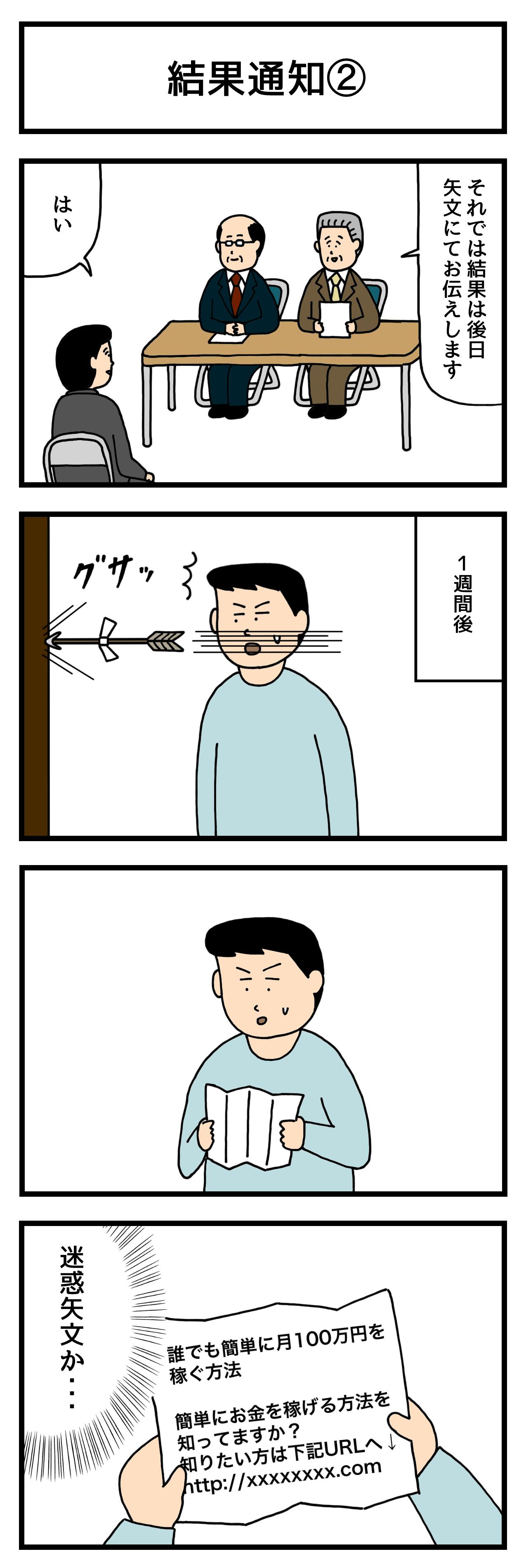 結果通知②