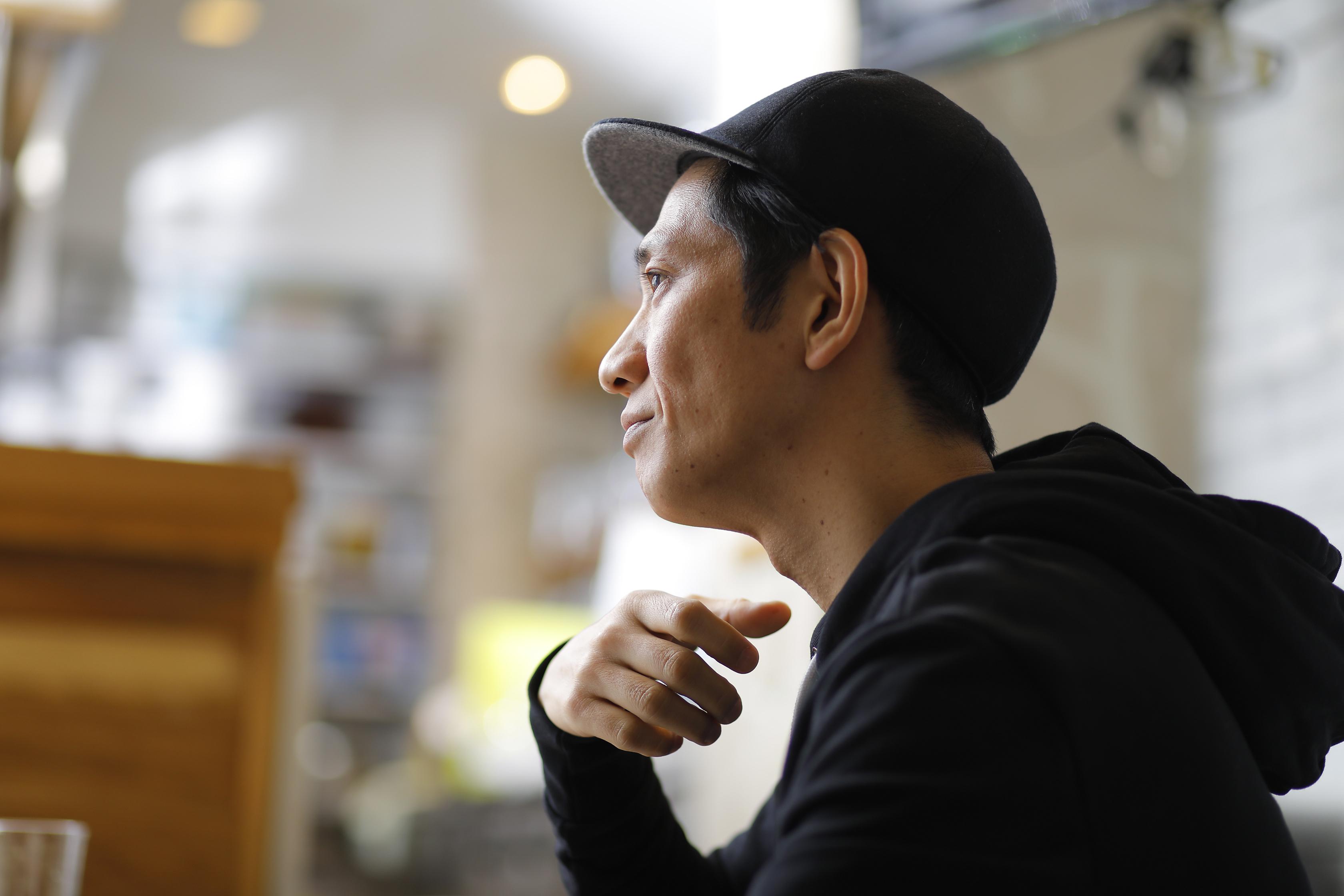 アンタッチャブル・柴田英嗣さん_インタビューカット