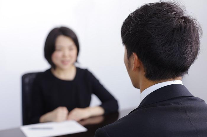 S男さんとキャリアアドバイザー渡辺の面談風景