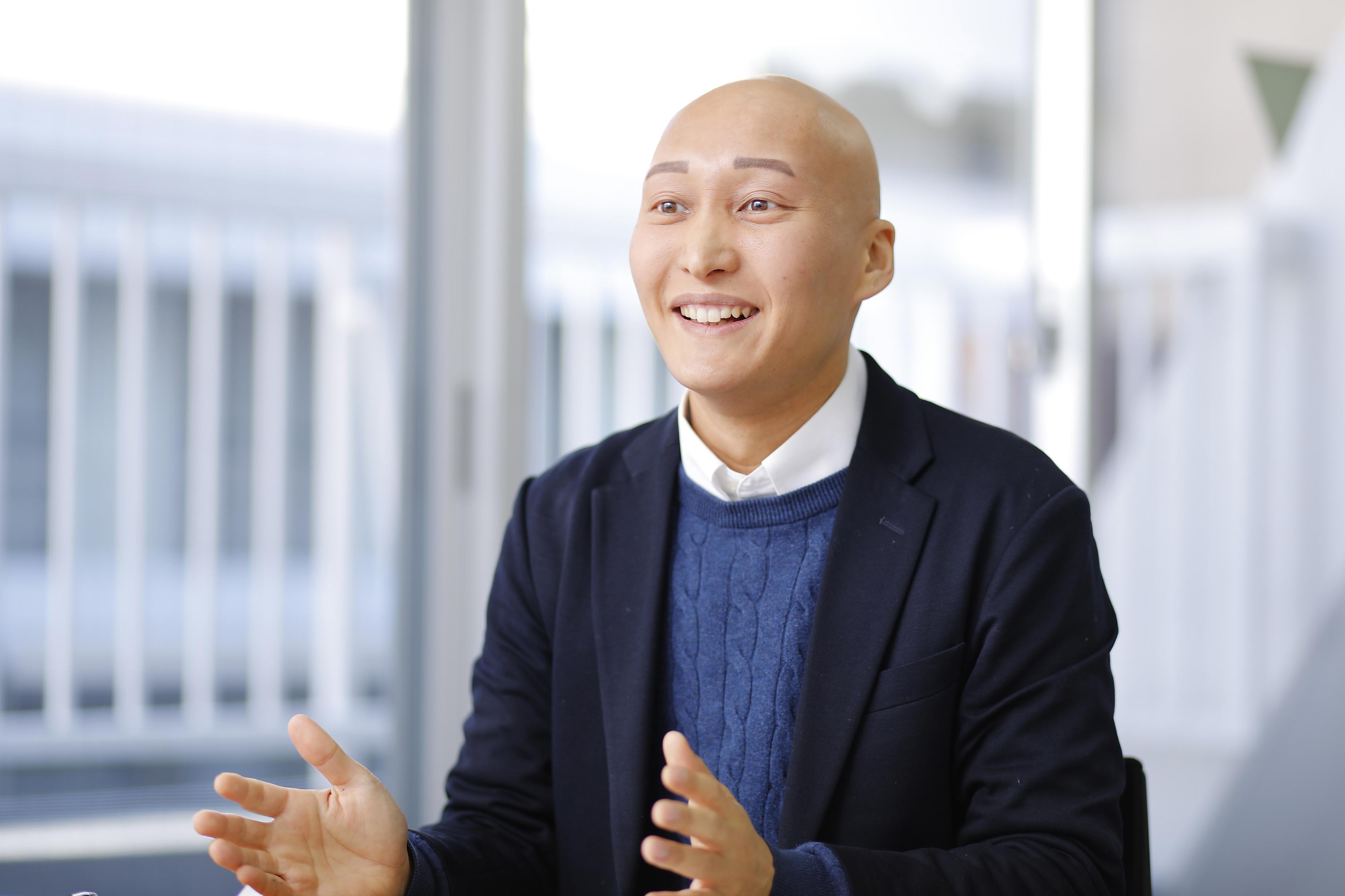 株式会社Criacao(クリアソン)・取締役CSO 竹田好洋さん_インタビューカット