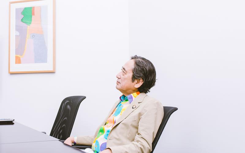 ルー大柴さんインタビューカット