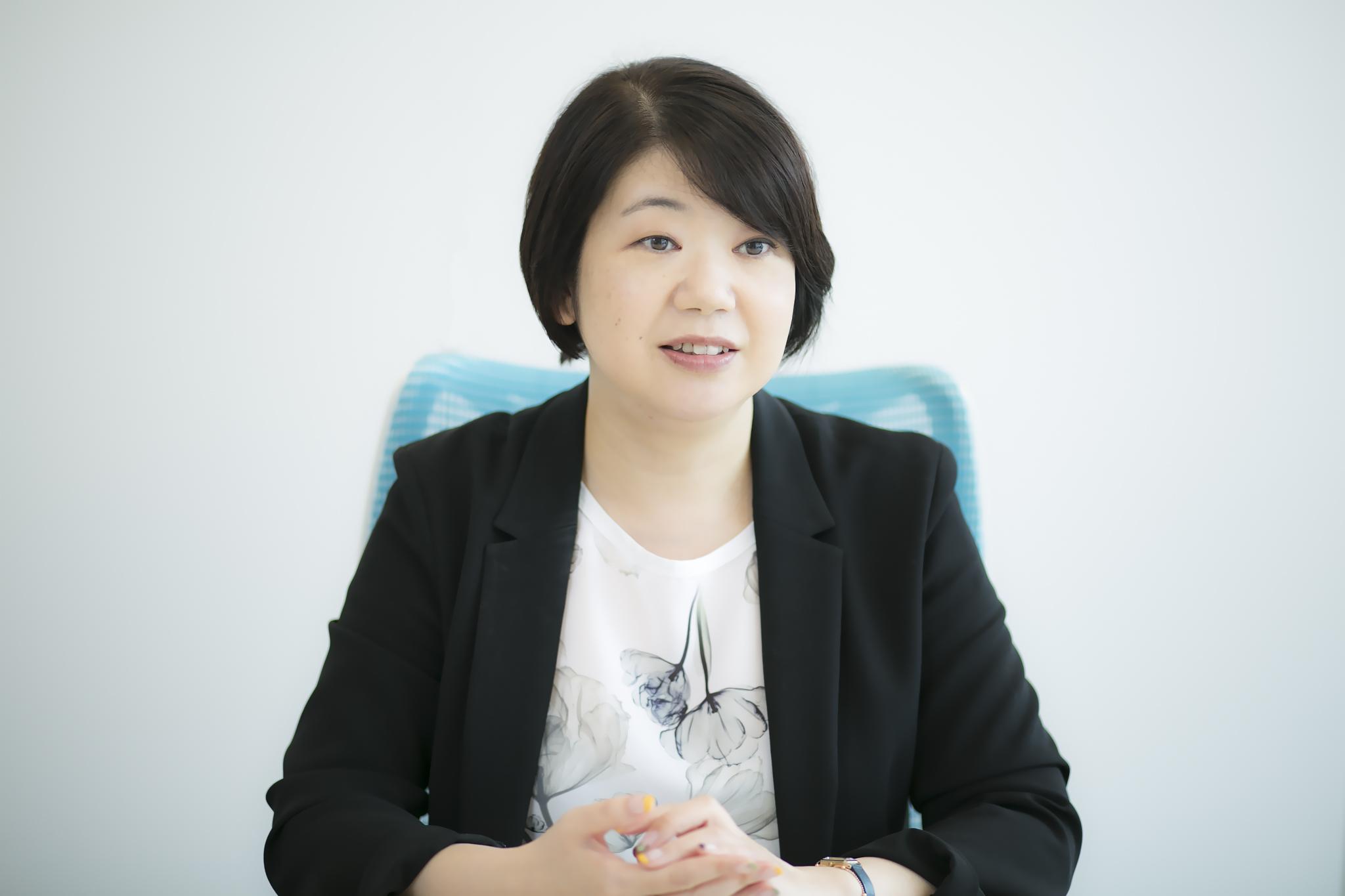 デジタルハリウッド大学・座間味涼子さんインタビューカット