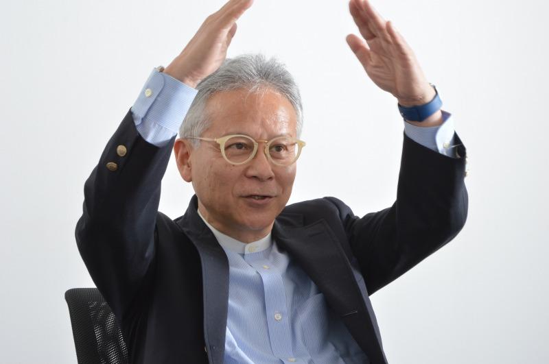 石井裕教授インタビューカット