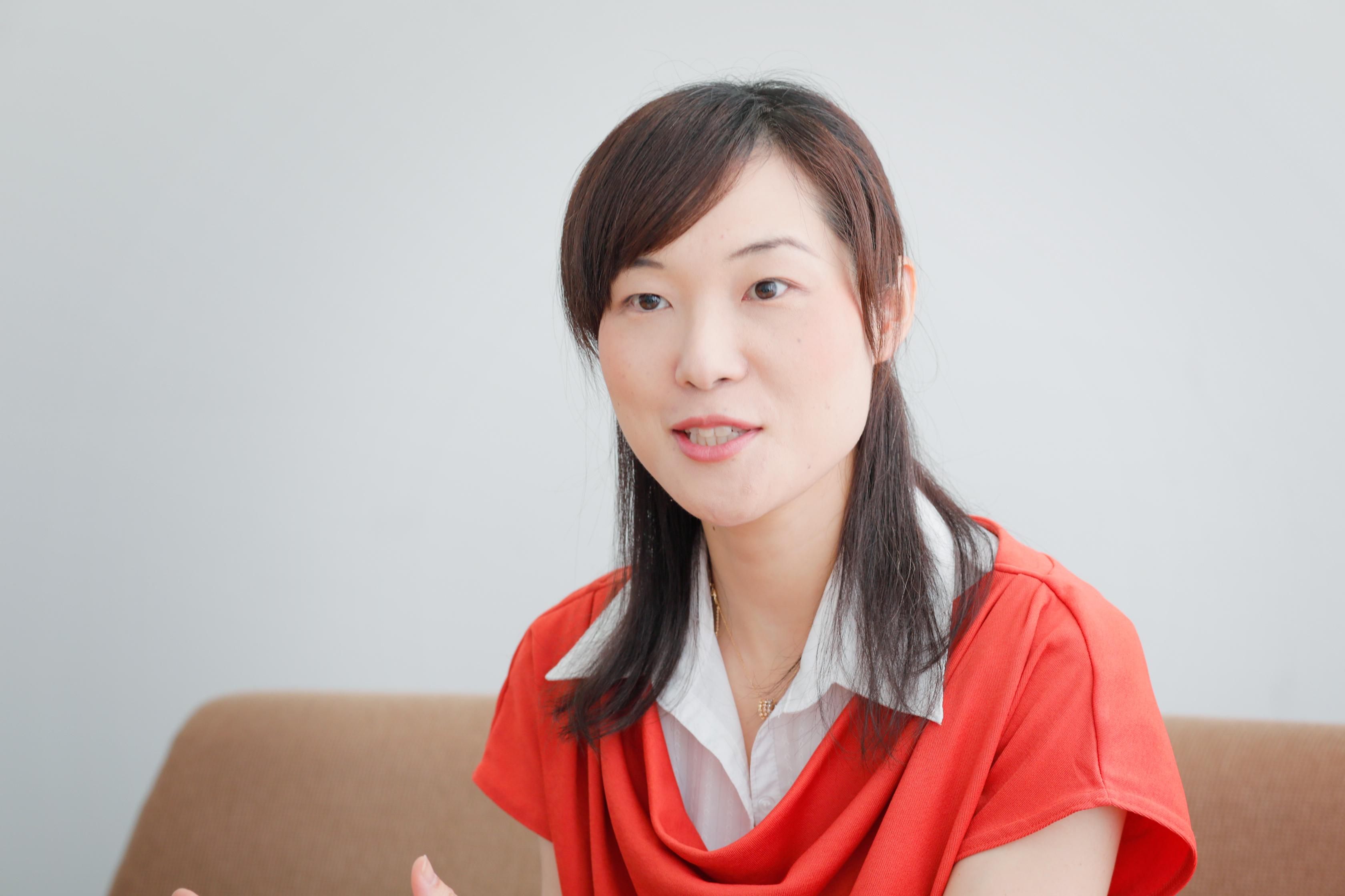 松岡亜希子さんインタビュー画像