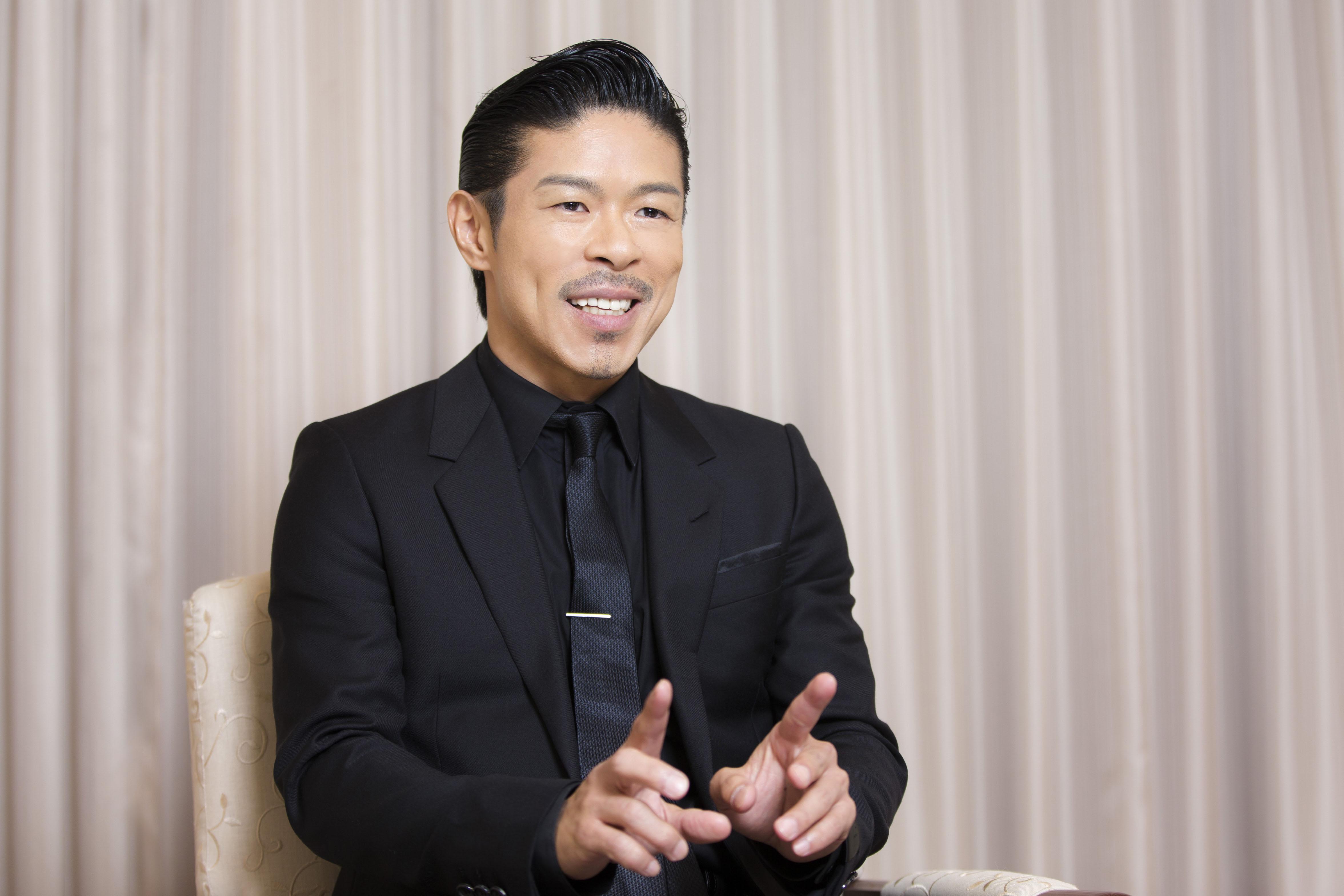 EXILE 松本利夫さんインタビューカット
