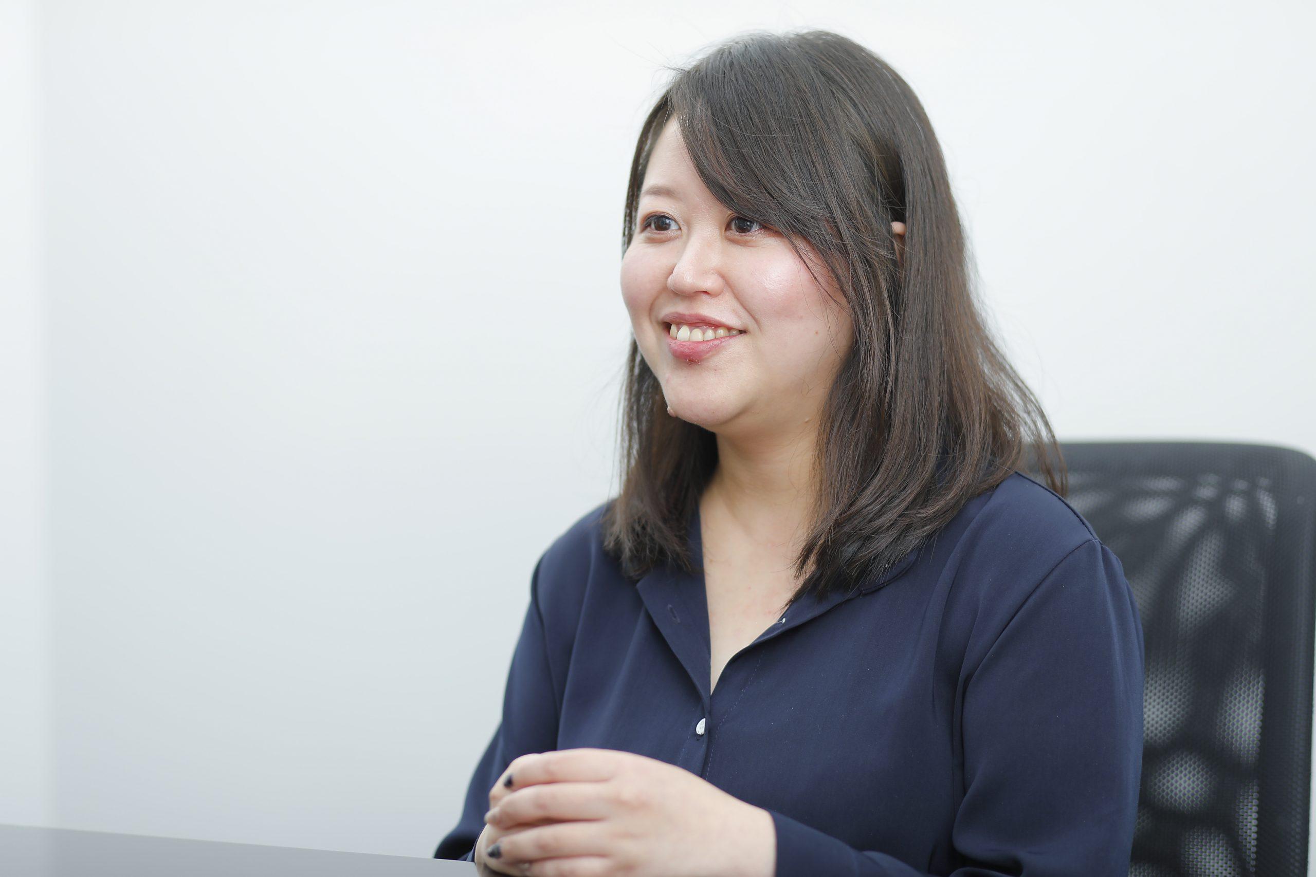 伏見裕子さんインタビューカット