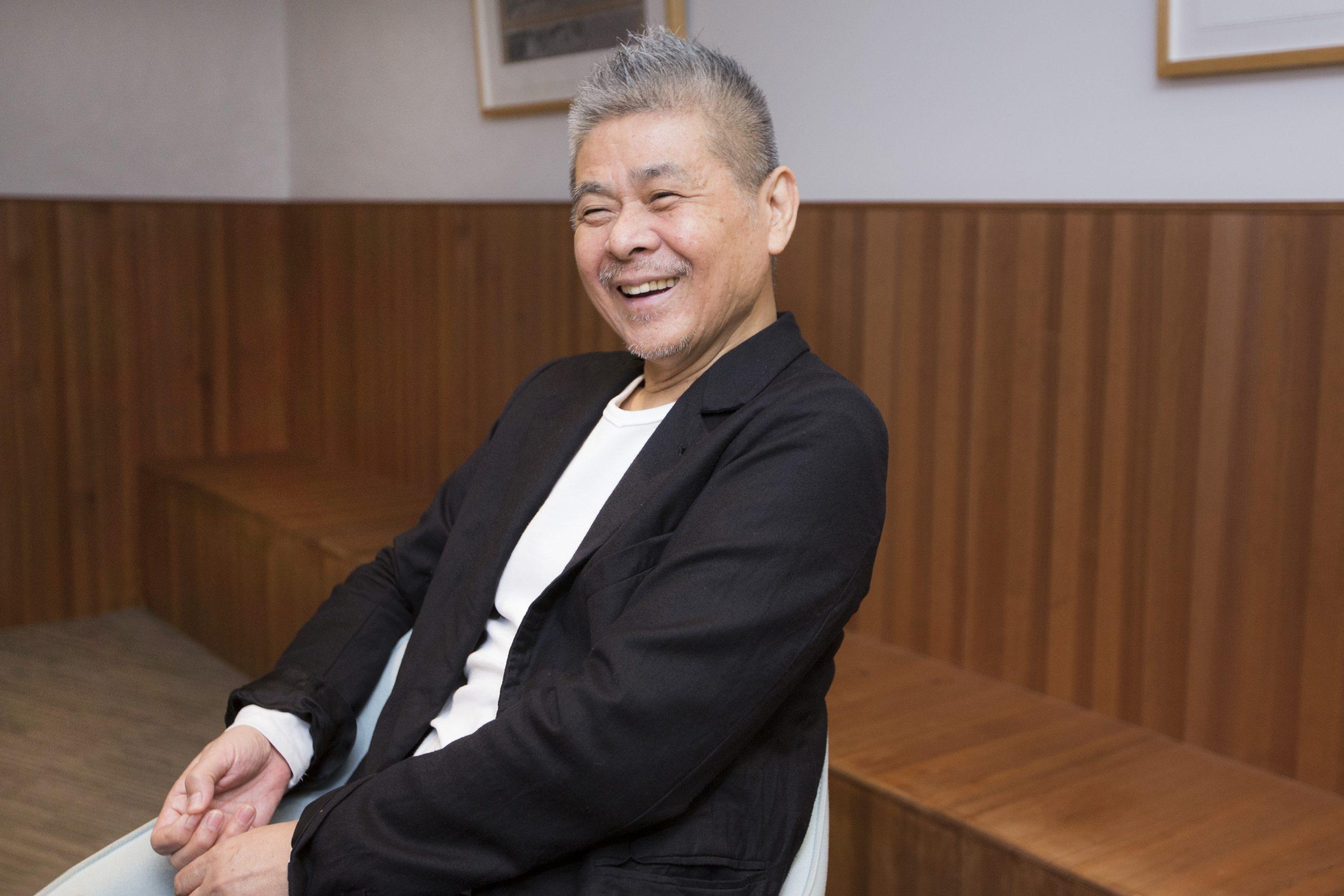 糸井重里さんインタビューカット