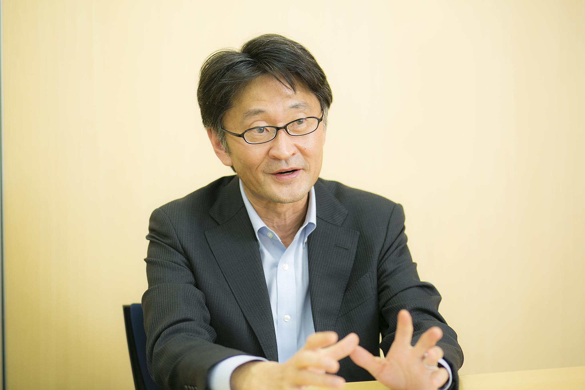 岡先生インタビュー写真