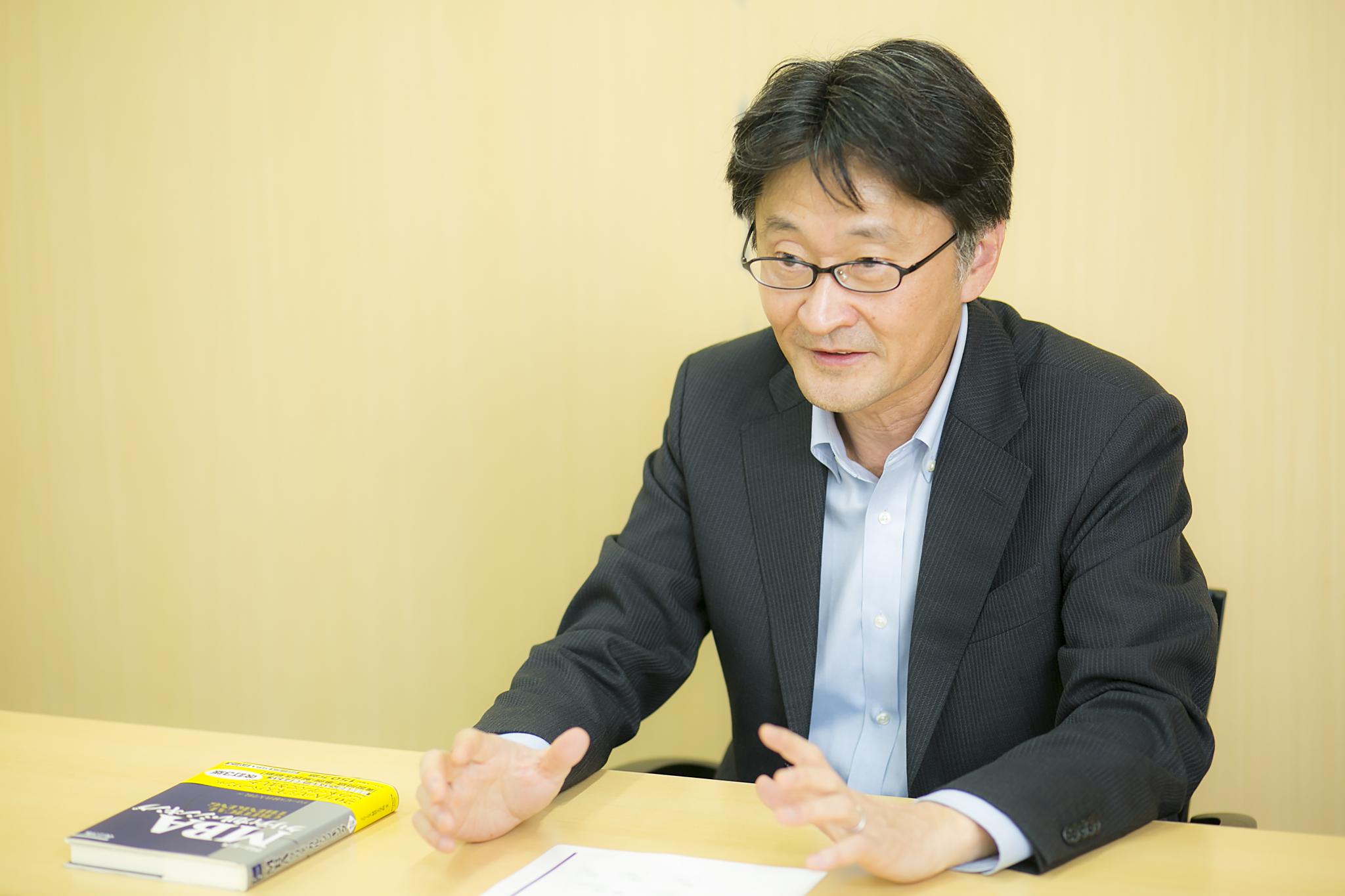 岡 重文さんインタビュー画像