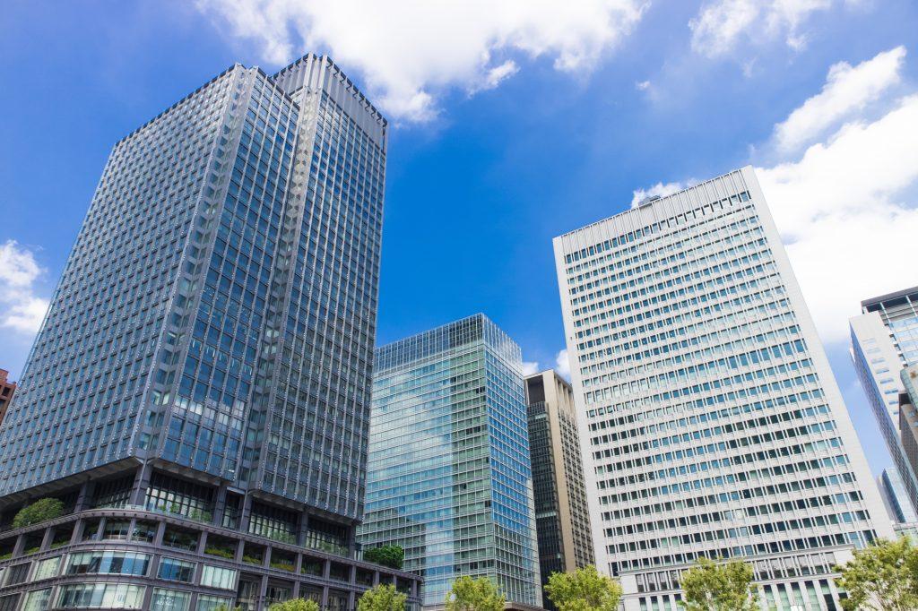 大企業のあるオフィス街のイメージ